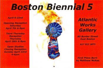 Boston Biennial 5 Postcard