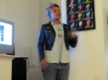 Artist talk by Tatayana Fazlalizadeh